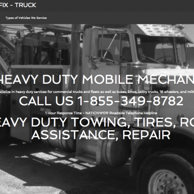 New Client for WebDesign… 855FixTruck